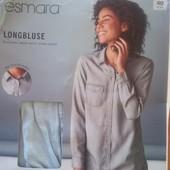 Германия, джинсовая рубашка оверсайз Heidi klum Esmara, М