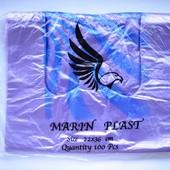 Пакеты майка Marin Plast 22x36см 100шт