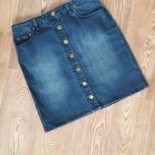 Стильная джинсовая юбка!Сост.идеальное