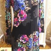 Чудесное платье в ярких цветах, размер М