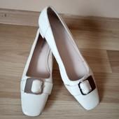 Білі туфлі Blue motion, по стельці 26,5 см, 10% знижка на УП