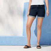 женские шорты джинс с вышивкой от Esmara. Нюанс