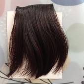 Новая Челка из 100% человеческих натуральных волос, настоящий человеческий волос!