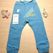 Name it! Модные лёгкие коттоновые джоггеры для мальчика! Цвет ближе к 1 фото! 86 рост, полномерные!