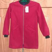 новое кашемеровое пальто 146