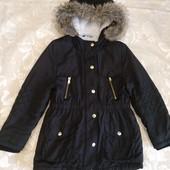 Куртка, парка George, 6-8 лет