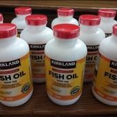 Рибий жир Омега 3. 1000mg (400 капсул) Kіrkland. США.