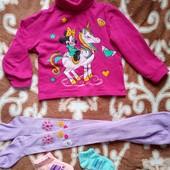 Гольф, колготы и носочки для девочки на рост примерно 104 см
