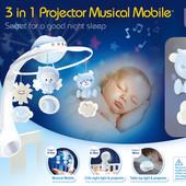 Музыкальный мобиль с проектором Infantino (Инфантино) 3 в 1