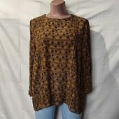 Фирменная блузочка из вискозы. Грудь-112