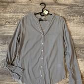 Рубашка блуза primark 40p вискоза