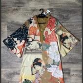 Платье кимоно desigual s Новое