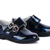 Туфли лаковые, маломерят