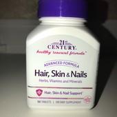 Комплекс вітамінів та мінералів для волосся, шкіра та нігті, розширена формула, 50 таблеток. Америка