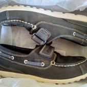 Кожаные туфли-мокасины Clarks