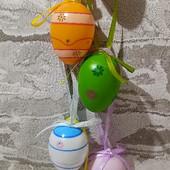 Декоративные пасхальные яйца Melinera (18шт) Германия