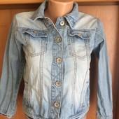 Куртка, пиджак джинсовий р. 11 лет 146 см,Next. состояние отличное