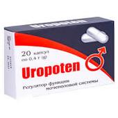 Безопасный биоактивный препарат Уропотен (Uropoten) капсулы от простатита
