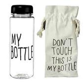 Бутылка с чехлом My bottle 360 (розовая)