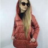 Бомба! Новая с бирками демисезонная куртка ТМ Моника с капюшоном, р. 48 +- смотрите замеры