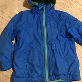 Яскрава демісезонна курточка Wed'ze на зріст 110-116, див.заміри