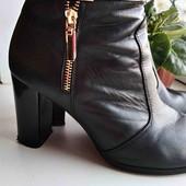 Шкіряні демосезонні ботинки
