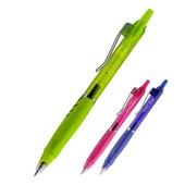 В лоте 10 штук!Цвет ассорти.Ручка гелевая Ergo&Quick dry ink, 0,5 мм,синяя.Германія.