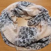 Весенний хомут-шарф
