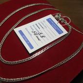Новинка!Прекрасный подарок!!Серебряная красивая цепочка- 925 пр. . Новая с биркой!