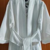 Женский мягкий , уютный халат с широким поясом от miomare. германия