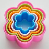 """Набор вырубок для печенья""""Цветочки"""" двухсторонние"""