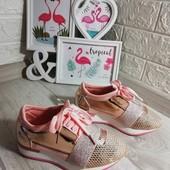 Кроссовчки для вашей принцессы весна-лето,размер 33 20.5-21 см