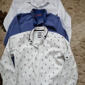 3 рубашки на 6-7-8лет
