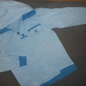 Кофта с капюшоном для мальчика, на 10-11лет,на рост 140-146