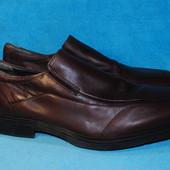 кожаные туфли jonhston murphu 47 размер