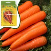 Морковь Тинга ( инкрустированные семена на водорастворимой ленте - 5 метров) . Лот 1 упаковка