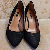 Туфлі belmondo 38р. натуральна замша