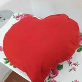 Подушка декоративная- сердце