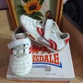 Кожанные кроссовки Lonsdale