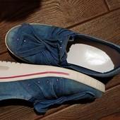 Джинсовые туфли Graceland 34 размер