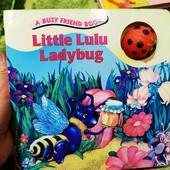 Книга на английском для малышей. Плотные картонные страницы.