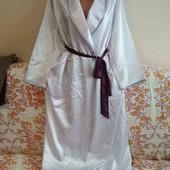 атласный халат пог. 59
