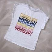 Стоп !❤ Стильная коттоновая классная футболочка с ярким принтом,7-8лет❤ Много лотов!