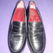 Туфли лоферы натур .кожа р34