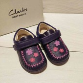Кожаные туфельки Clarks 20, 21, 22, 22,5, 23 размер. На выбор.