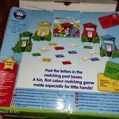 Orchad toys, настольная игра почтовый ящик, 2г+ , сортер по цветам