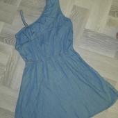 Легеньке джинсове плаття на підлітка 12-14 років