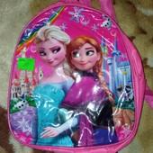 Для маленькой принцессы.рюкзачек с лол (перевёртыш)и мульт героями.новый.лот 1 шт