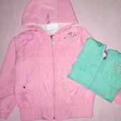 Готовимся к весне! Куртка ветровка для девочек в двух цветах, размеры 110,116,122Турция