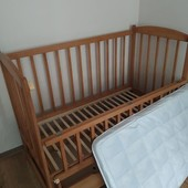 Дитяче ліжечко-колиска + матрас